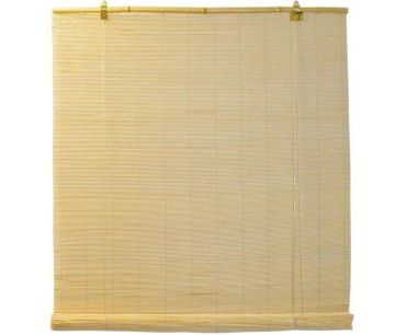 view of a bamboo blind